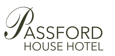 full black logo Passford House Hotel