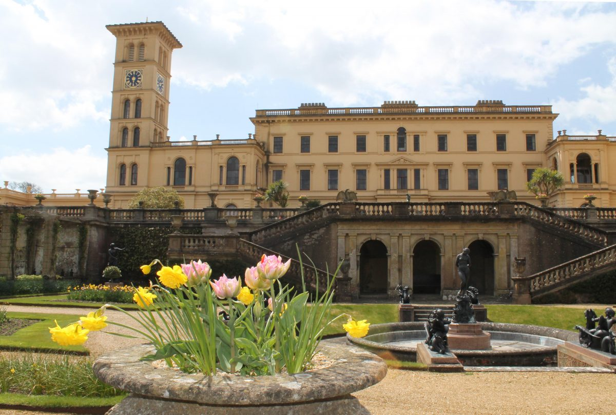 Photograph of Osborne House, in the Isle of Wight