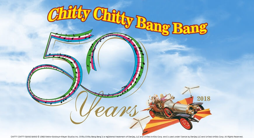 Beaulieu Chitty Chitty Bang Bang 50 Year Exhibition